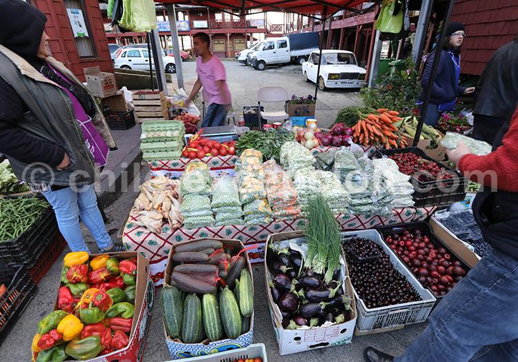 Marché d'Angelmó, Puerto Montt, Chili