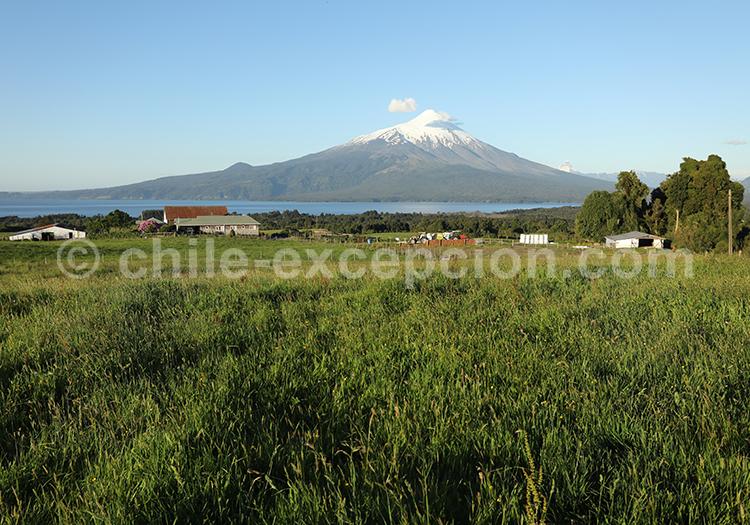 Panorama du volcan Osorno
