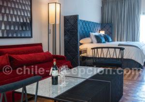 Chambre hotel Luciano K Lastarria