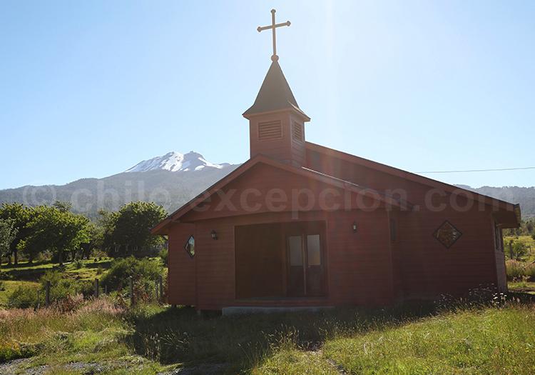 La région des lacs et volcans, Chilii