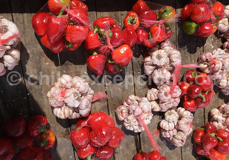 Fruits et légumes du Chili