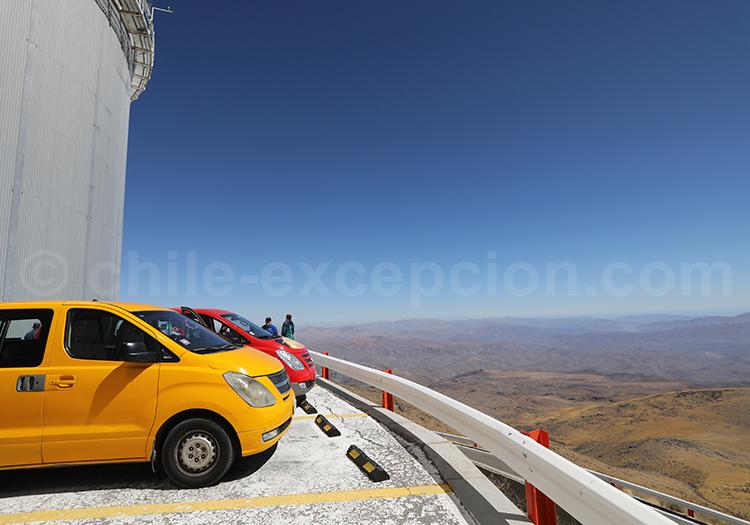 Tour guidé, observatoire la Silla