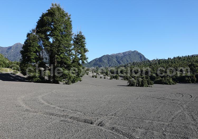 Ascension du volcan Calbuco, Chili