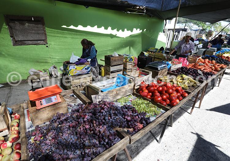 Feria traditionnelle Chanco, Chili