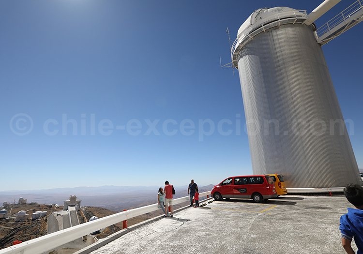 Observatoire astronomique, Chili