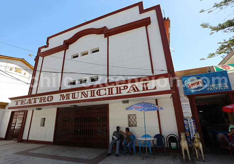 Théâtre Municipal, Vicuña, Chili