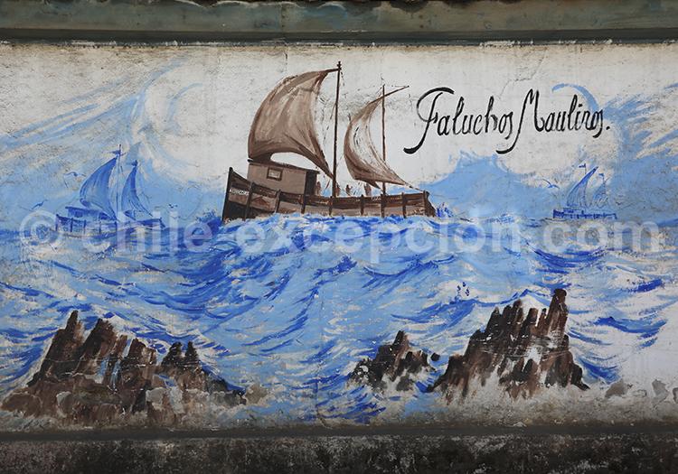 Street Art Pelluhue, Chili