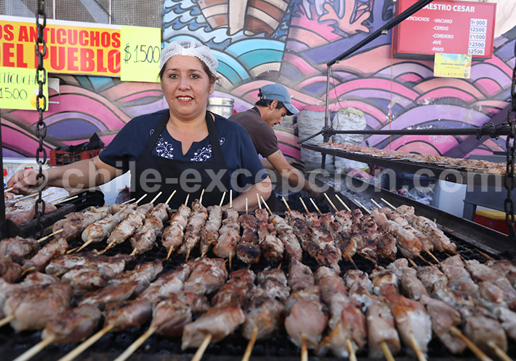 Culture de l'asado, Curico, Chili