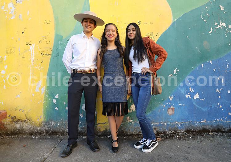 Chiliens de la région centrale