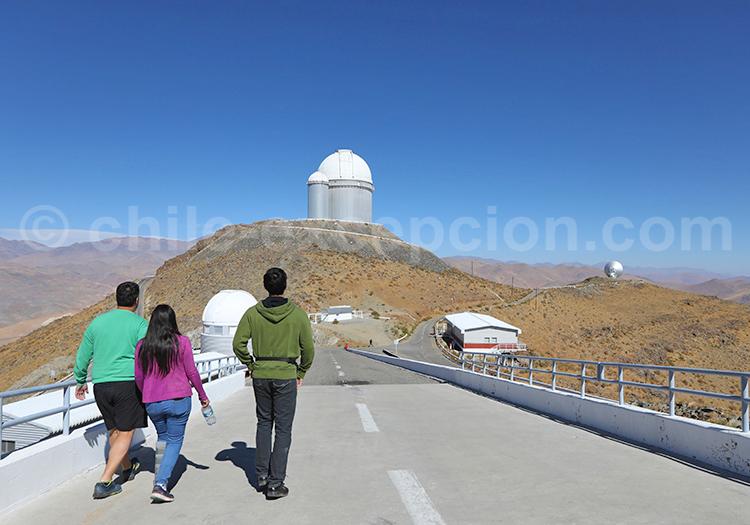 La silla, observatoire scientifique, Chili