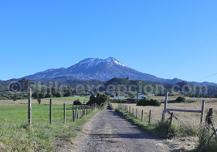 Trekking, volcan Calbuco, Chili