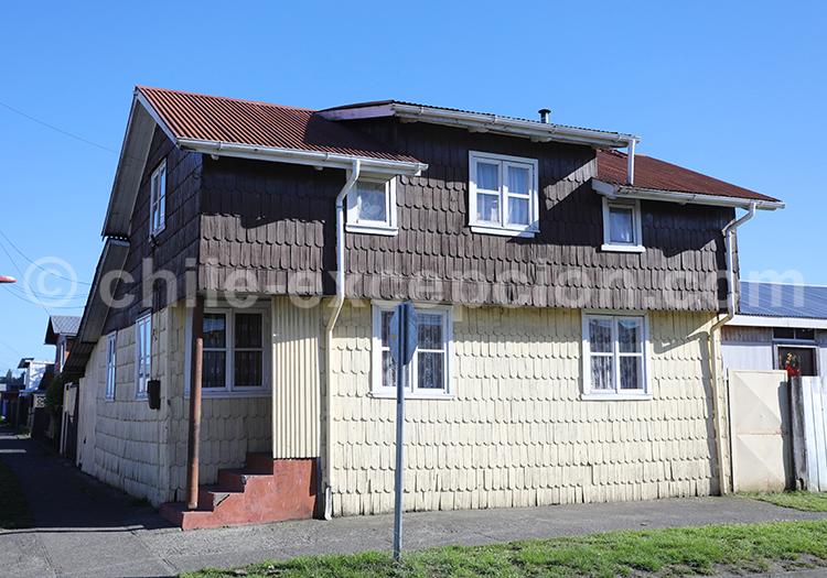 Maisons coloniales, Llanquihue, Chili