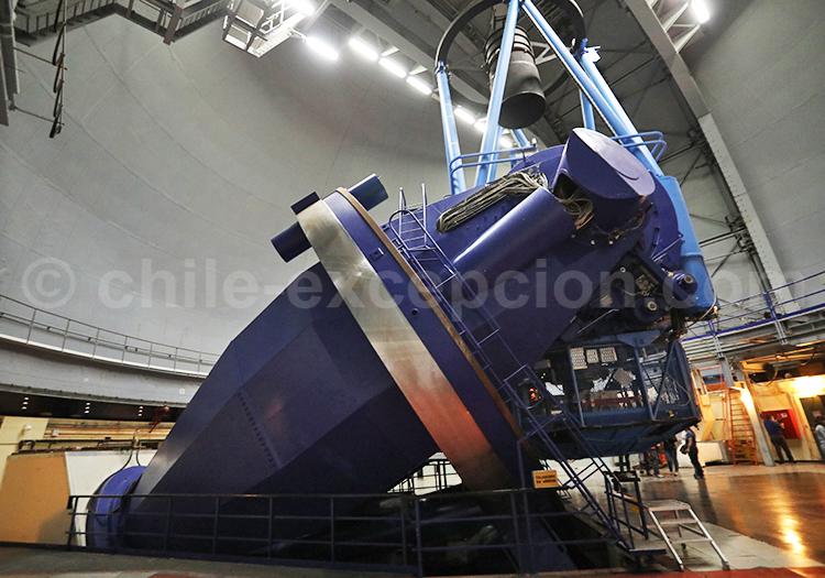 Mécanisme d'un observatoire la Silla, Chili