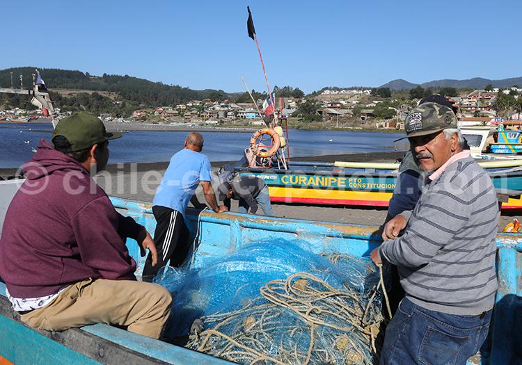 Pêcheurs du Chili