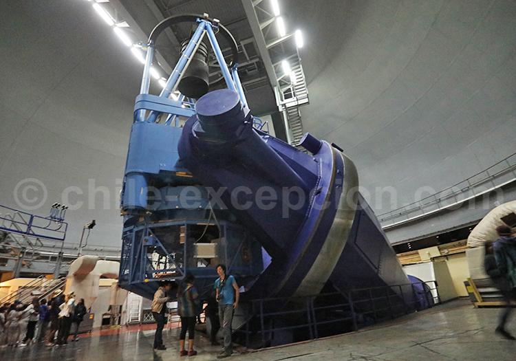 Tour dans un observatoire la Silla, Chili