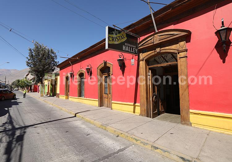 Restaurant à Vicuña, Chile