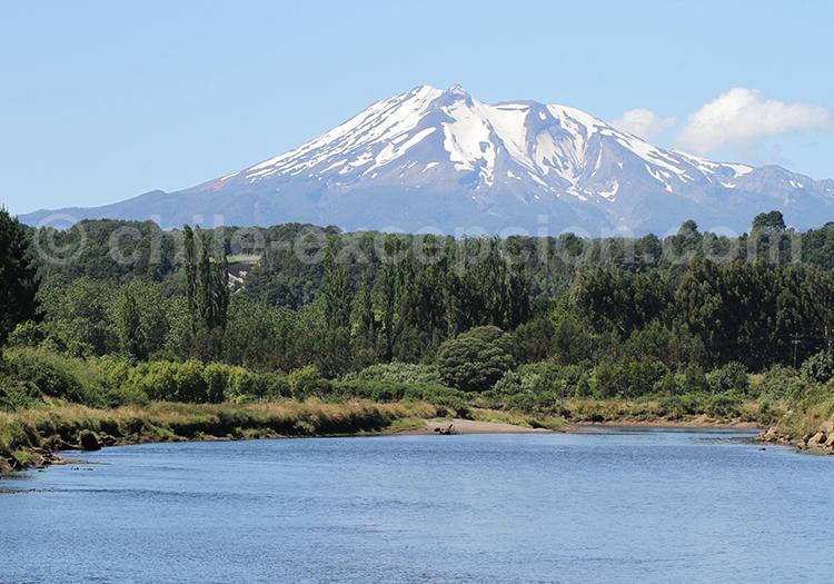 Volcan Calbuco, région des lacs, Chili
