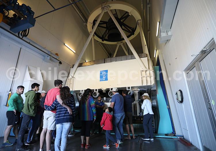 Visite guidée d'un observatoire international, Chili