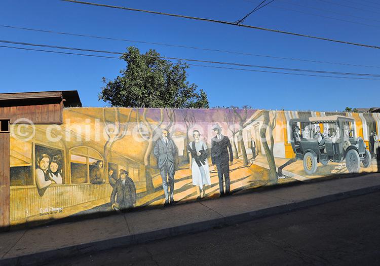 Histoire de Vicuña, Chili