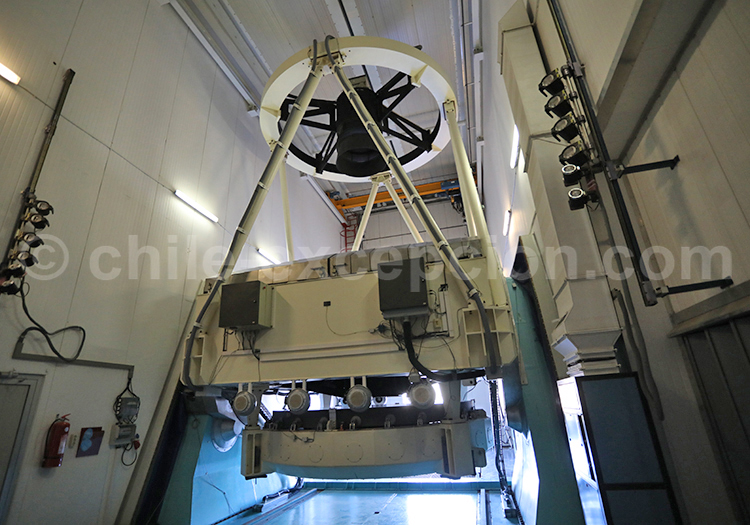 Intérieur d'un observatoire astronomique