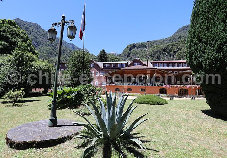 Restaurant durant la traversée des lacs, Petrohue - Bariloche