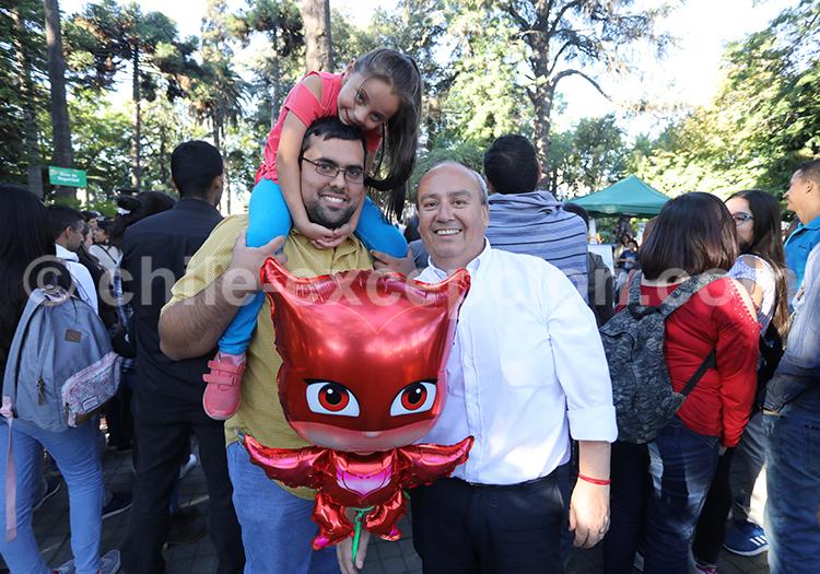 Faire la fête en famille, centre du Chili