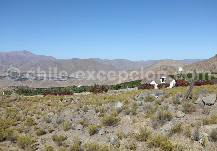 Villages du Chili, valle del Elqui