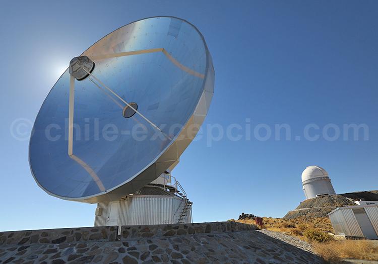 Tourisme astronomique, Observatoire la Silla, Chili