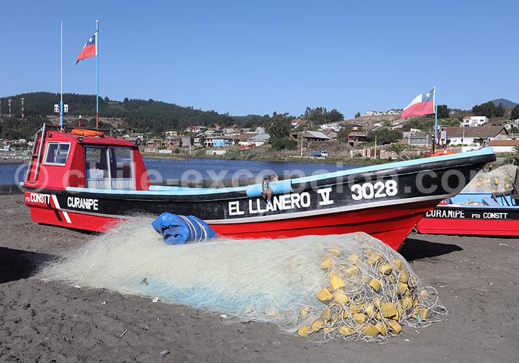 Curanipe, centre du Chili