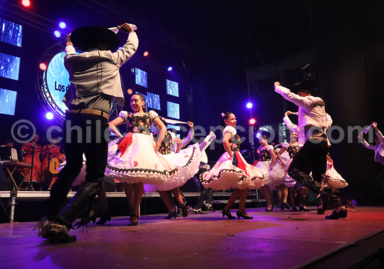 Spectacle huaso, Curico, Chili
