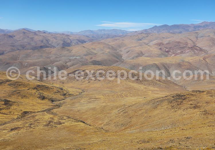 Désert de l'observatoire la Silla, Chili