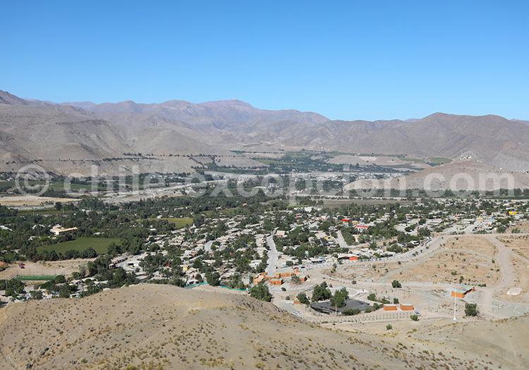 Village de Vicuña, Chili