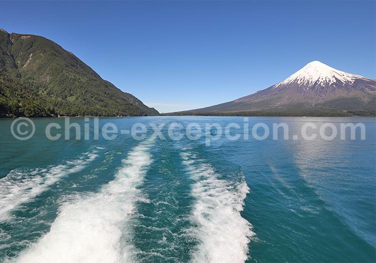Lac Petrohue, volcan Osorno