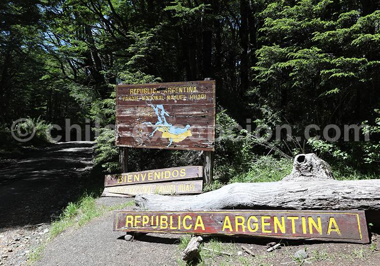 Frontière argentine, Bariloche