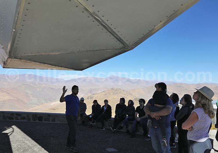 Visite guidée de l'observatoire la Silla, Chili
