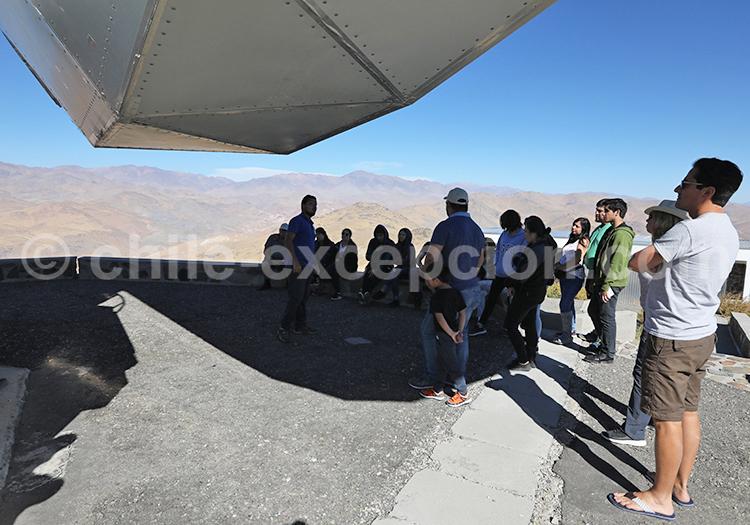 Visite d'un téléscope, Observatoire la Silla, Chili