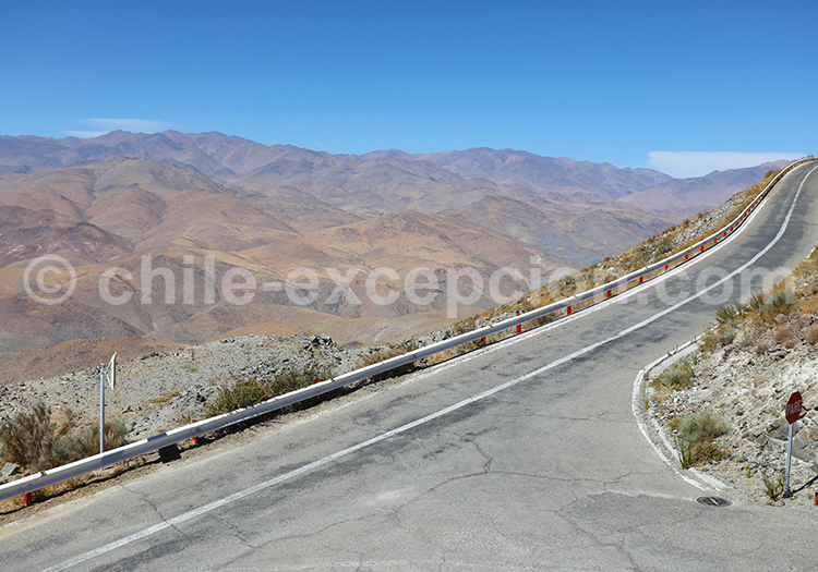 Route du désert, Nord du Chili