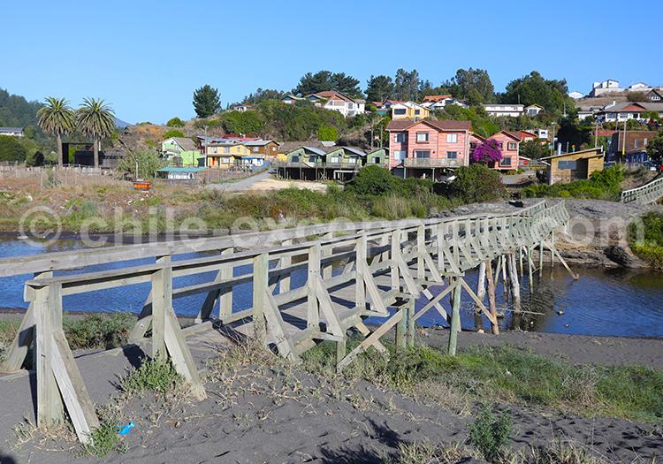 Village de Curanipe, Chili