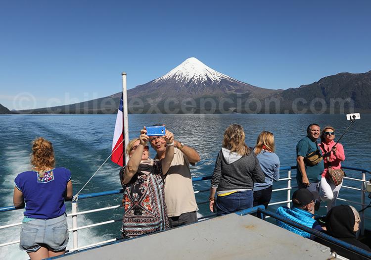 Contempler les volcans du Sud du Chili