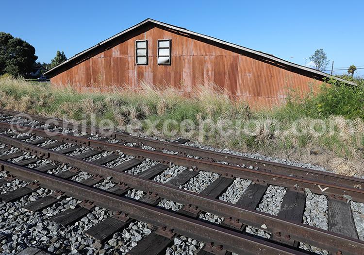 Chemin de fer, Llanquihue, Chili