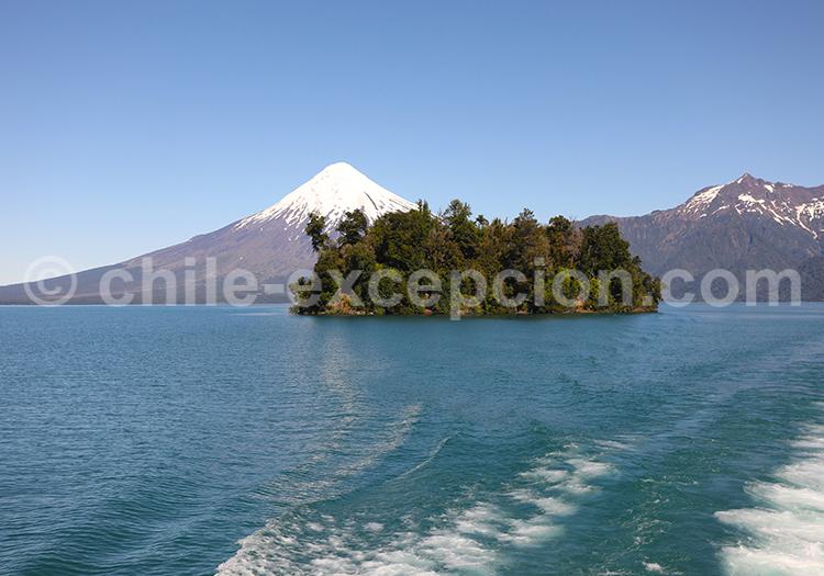 Volcan Osorno, lac Petrohue, Chili