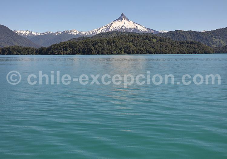 Volcan Calbuco, lac Petrohue, Chili