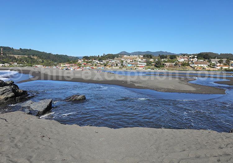 Curanipe, région centrale du Chili