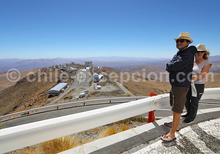 Observatoire scientifique, Nord du Chili