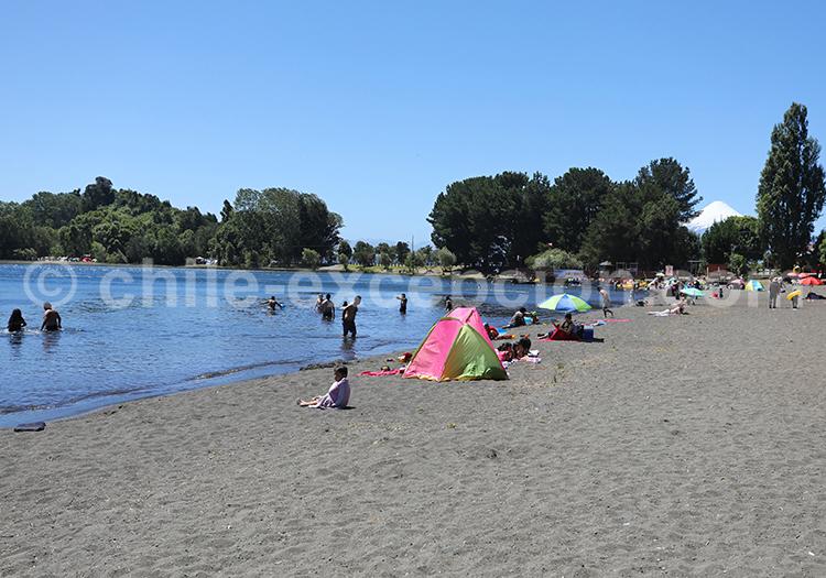 Punta Centinela, région des lacs, Chili