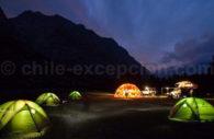 campement de nuit