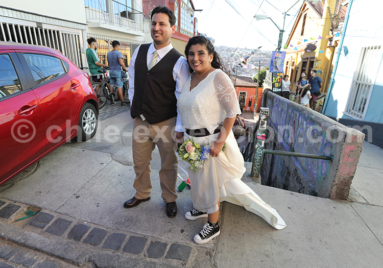 Mariage, Valparaiso