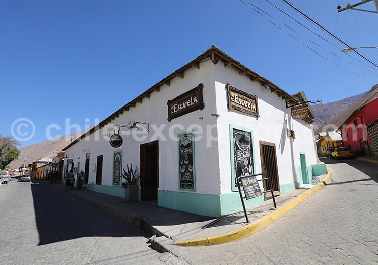 Restaurant La Escuela, Pisco Elqui