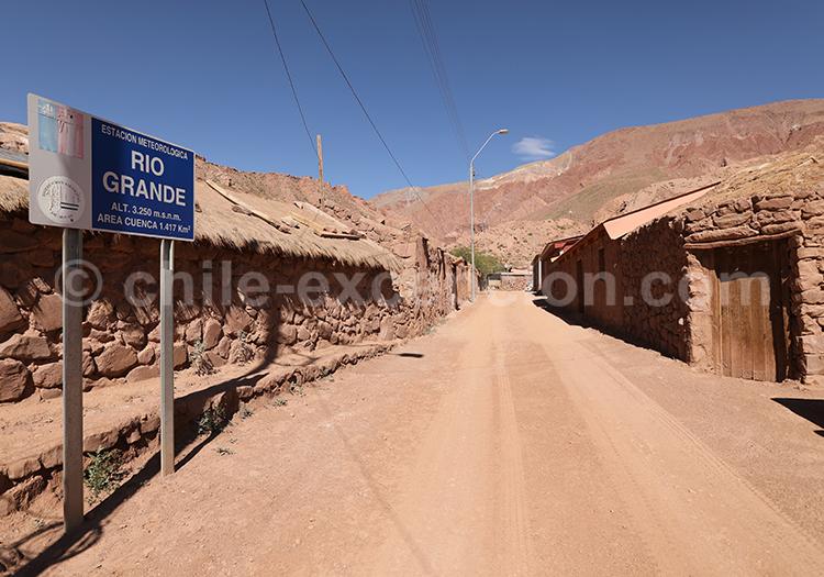 Rio Grande, Nord de San Pedro de Atacama