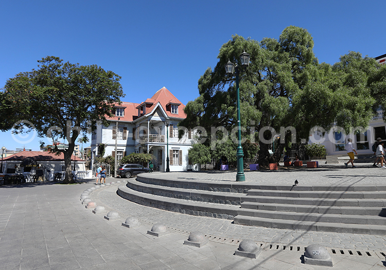 Plaza Paseo Yugoslavo, Cerro Alegre, Valparaiso